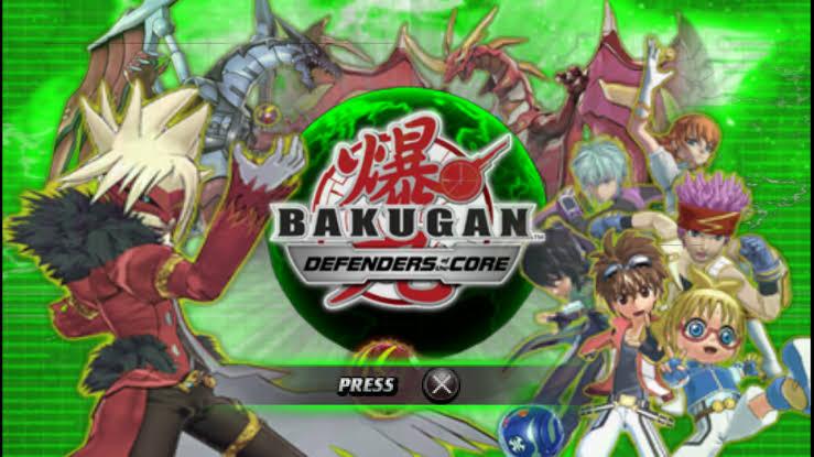 Download Bakugan Battle Brawlers ISO PSP Game