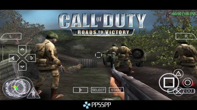 Download Call Of Duty – Roads To Victory PSP Game