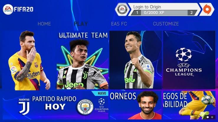 Download FIFA 20 Mod FIFA 14 UCL Edition Android