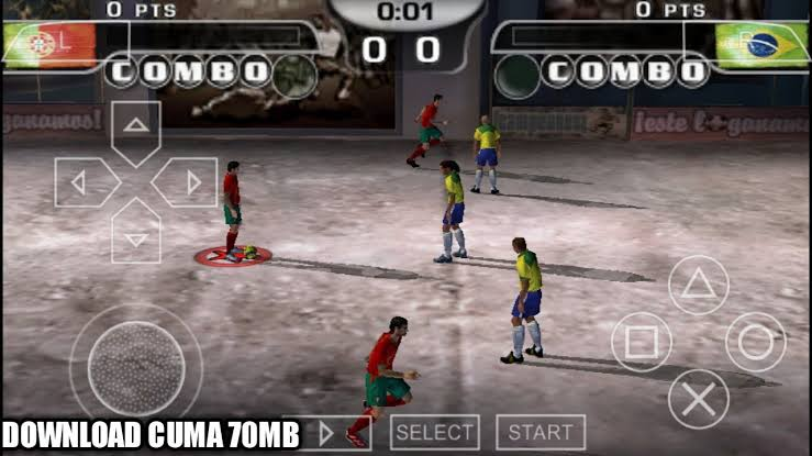 Download FIFA Street 2 ISO File PSP  Game