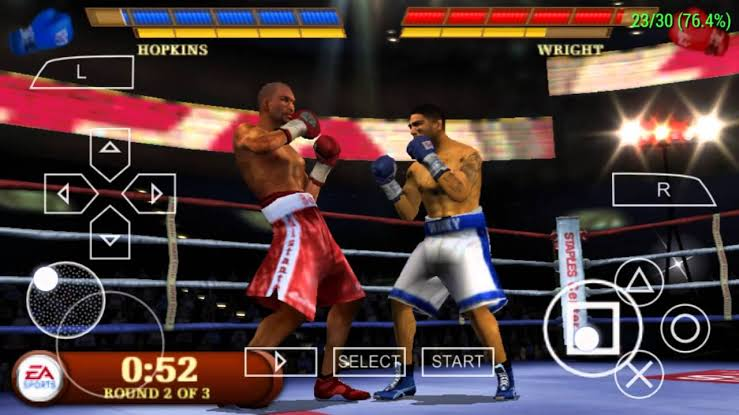Download Fight Night Round 3 ISO File PSP Game