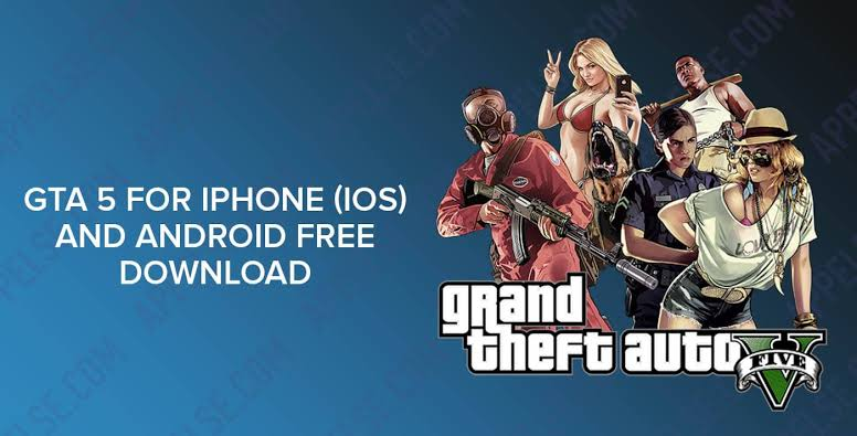 Download GTA 5 iOS for iPhone iPad (Grand Theft Auto)