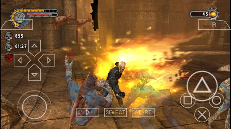 Download Ghost Rider ISO File PSP Game