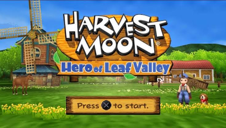 Download Harvest Moon – Hero Of Leaf Valley ISO PSP Game