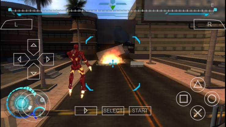 Download Iron Man 2 ISO File PSP Game
