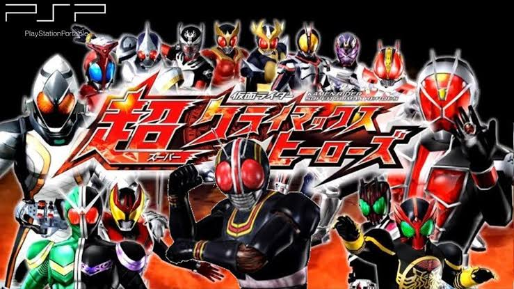 Download Kamen Rider Super Climax Heroes ISO PSP Game