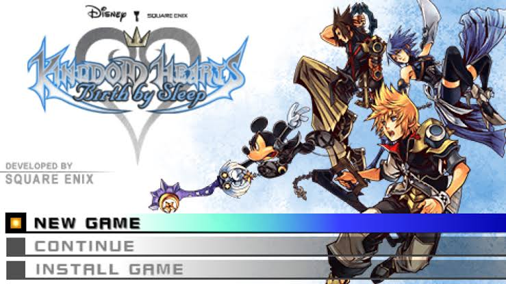Download Kingdom Hearts Birth By Sleep ISO File PSP Game