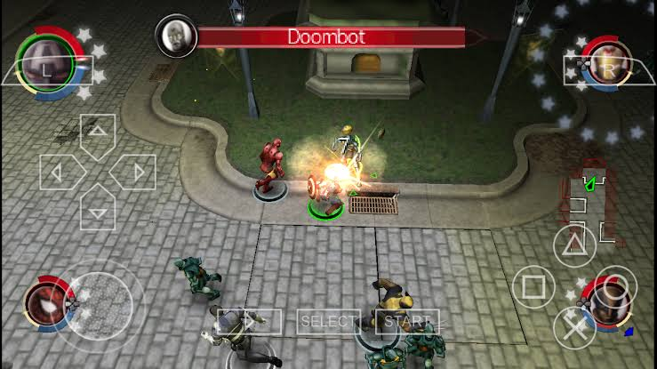 Download Marvel Ultimate Alliance 2 ISO PSP Game