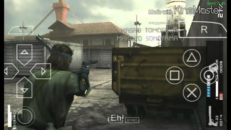 Download Metal Gear Solid – Peace Walker ISO PSP Game