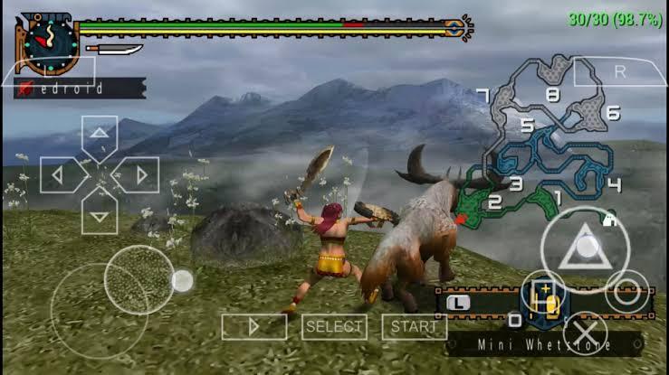 Download Monster Hunter Freedom 2 ISO PSP Game