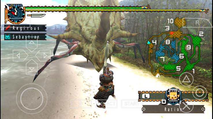 Download Monster Hunter Freedom Unite ISO File PSP Game