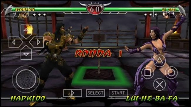 Download Mortal Kombat Unchained ISO File PSP Game