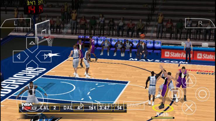 Download NBA 2K13 ISO File PSP Game (Basketball 2013)