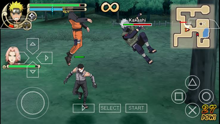 Naruto Shippuden Ultimate Ninja Impact ISO PSP Game