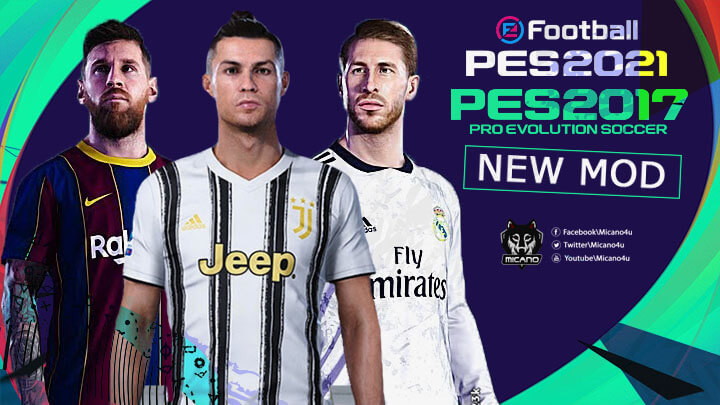 Download PES 2017 Patch PES 2021 V1.0 PC Game