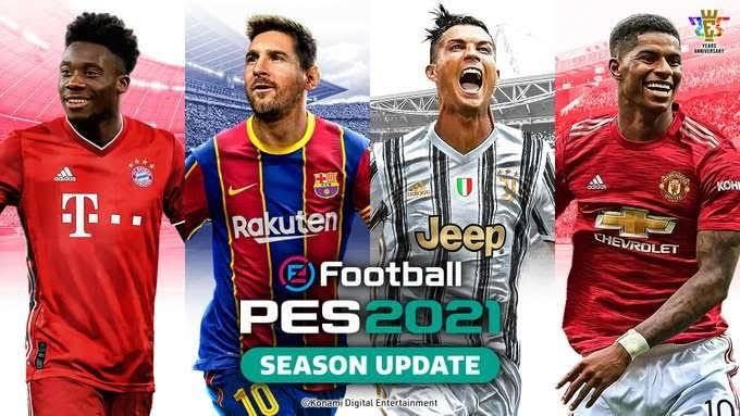 Download PES 2021 Apk + Obb eFootball for Android