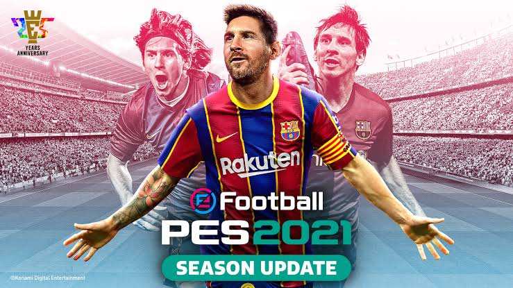 Download PES 2021 Pro Evolution Soccer For  PC Free