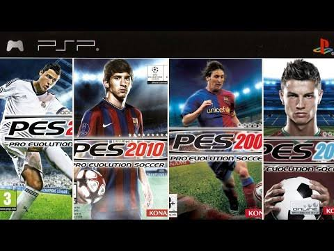Download PES Games for PSP PS2 PC (Free Download)