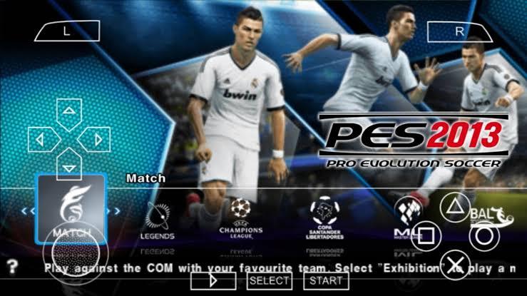 Download Pro Evolution Soccer 2013 ISO PSP (PES 2013)