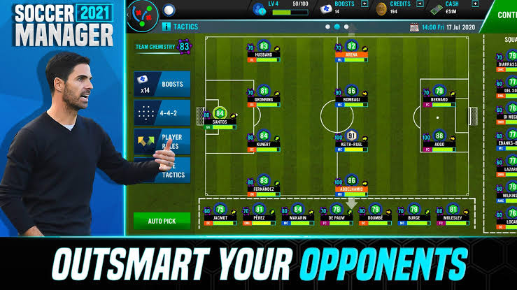 Download Soccer Manager 2021 for Android