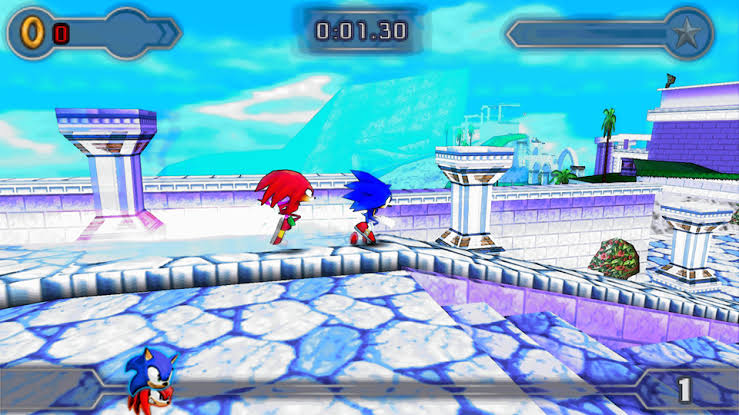 Download Sonic Rivals 2 ISO File PSP Game