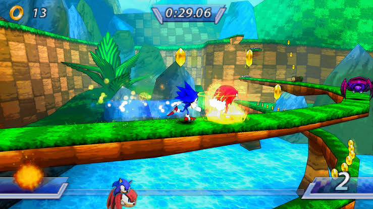 Download Sonic Rivals ISO File PSP Game