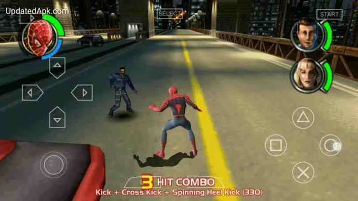 Download Spider Man 3 ISO File PSP Game