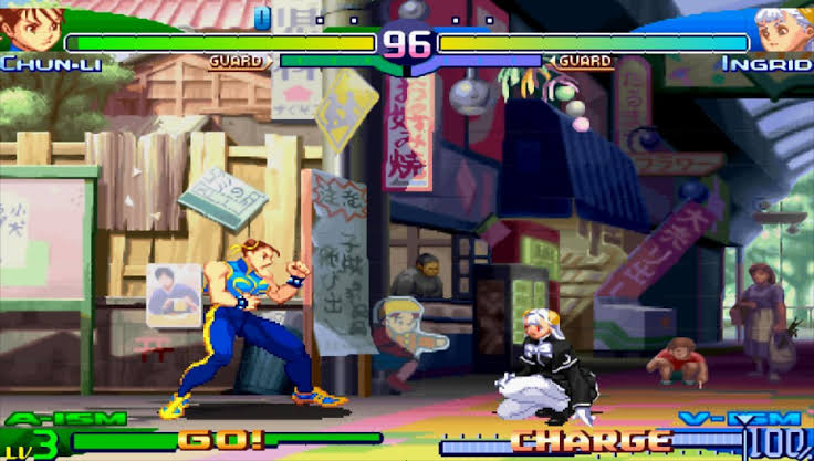 Download Street Fighter Alpha 3 Max ISO File PSP Game