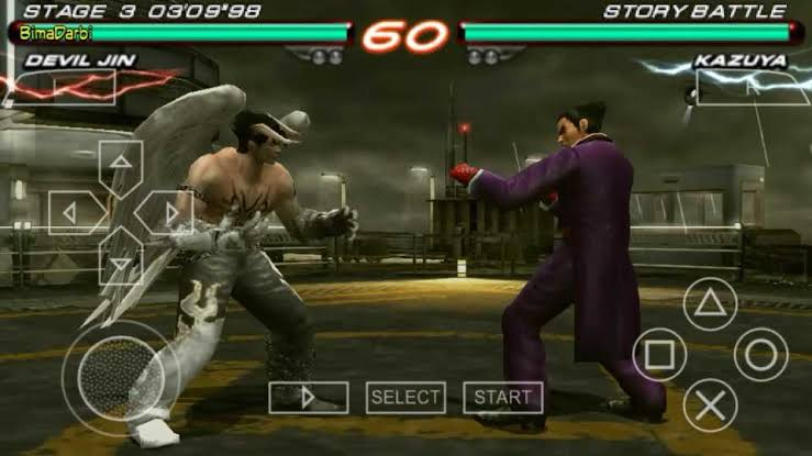 Download Tekken 6 ISO File PSP Game