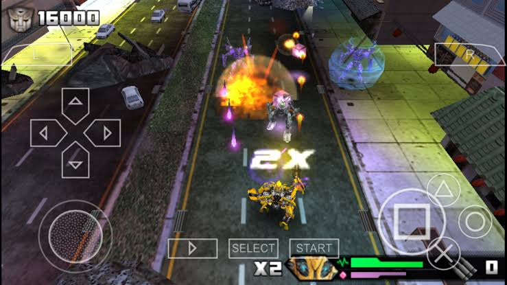 Download Transformers – Revenge Of The Fallen PSP Game