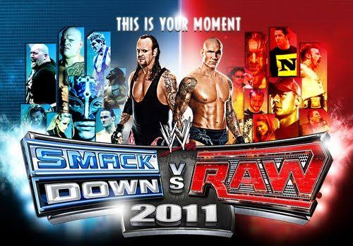 Download WWE SmackDown Vs. RAW 2011 ISO PSP Game