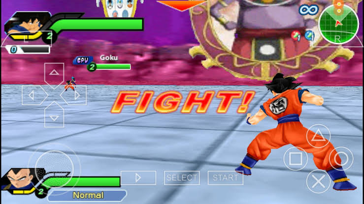 Dragon Ball Z – Tenkaichi Tag Team ISO PSP Game
