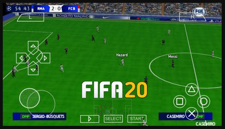 FIFA 2020 ISO PPSSPP Android Offline Free Download