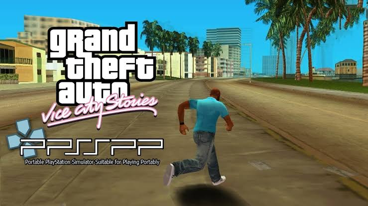 Grand Theft Auto Vice City Stories ISO PPSSPP Game