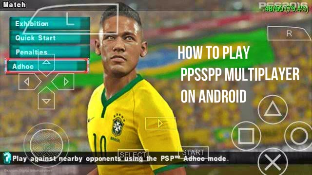 How To Play Multiplayer PES 2021 PPSSPP (Adhoc Settings)