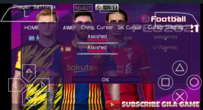 PES Multiplayer On PPSSPP
