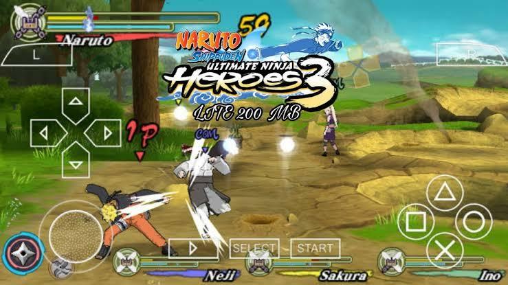 Naruto Shippuden – Ultimate Ninja Heroes 3 ISO PSP Game