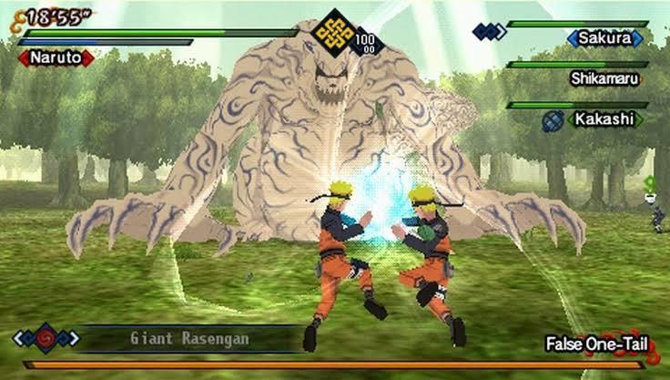 Naruto Shippuden Kizuna Drive ISO File PSP Game
