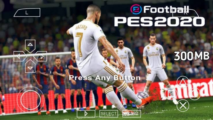 PES 2020 Lite PPSSPP 300MB Latest Transfers Update
