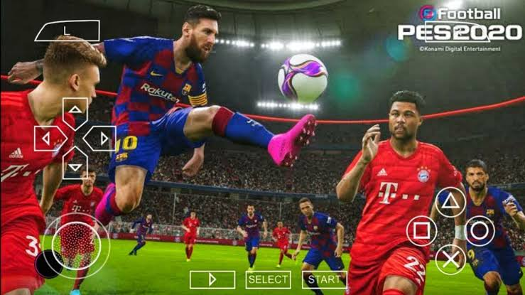 PES 2020 PPSSPP Camera PS4 Android Best Graphics