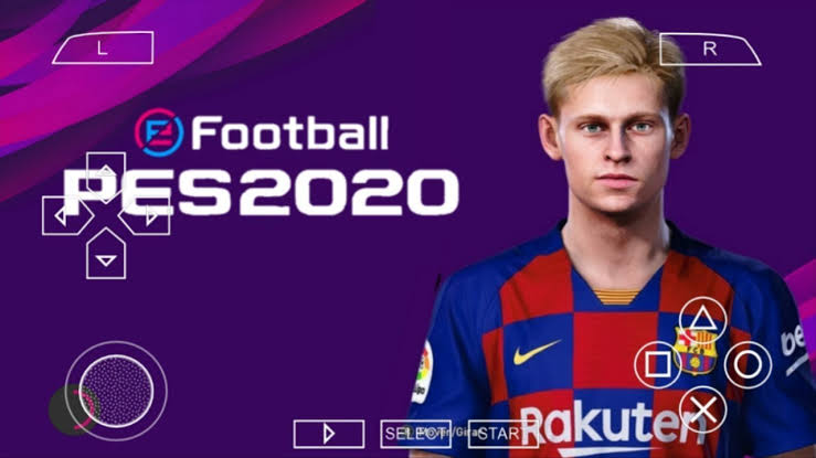 PES 2020 PPSSPP LITE 300MB PS4 Camera Android