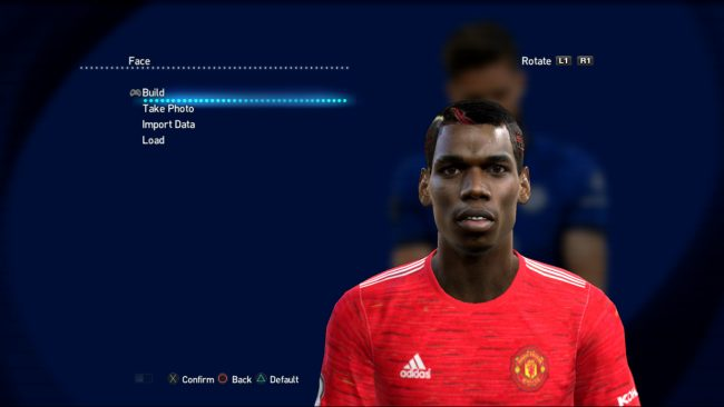 PES 2013 Patch 2021 Pogba Real face