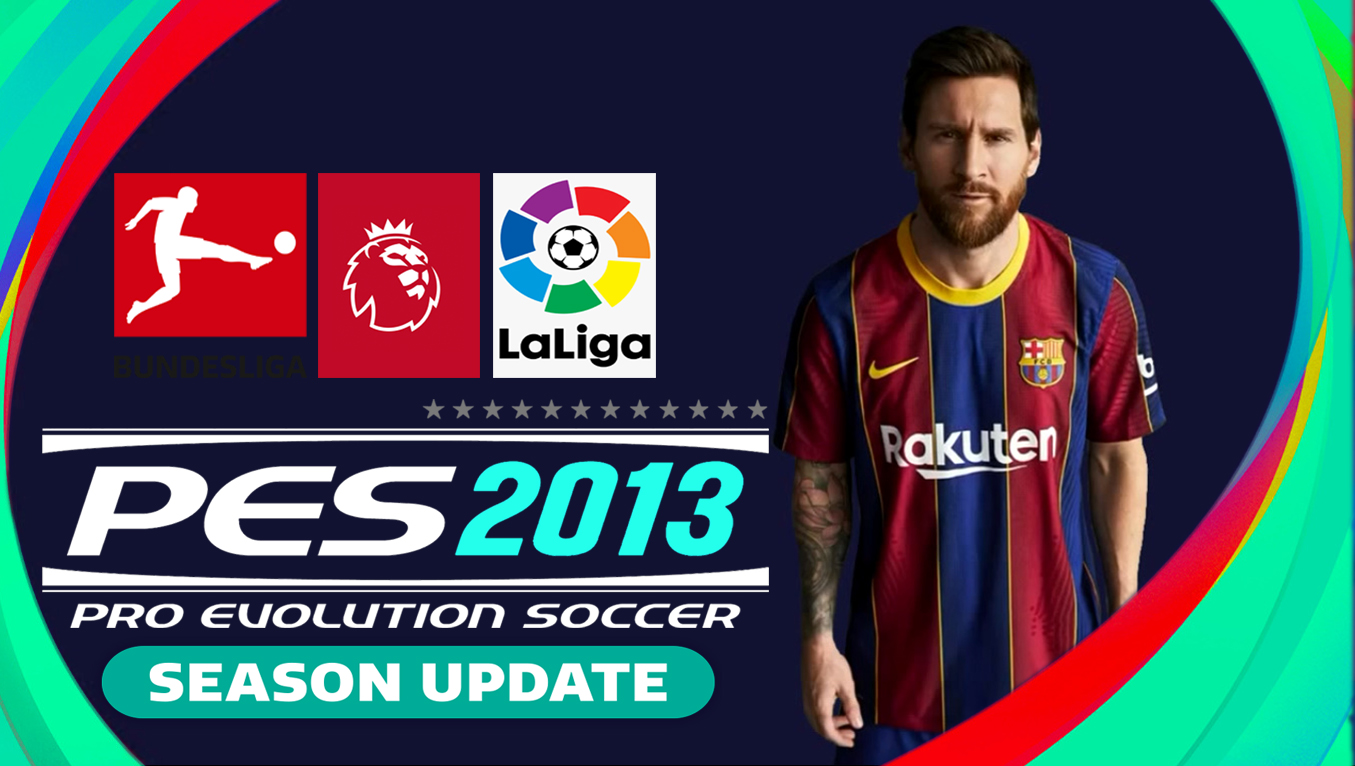 PES 2013 Patch 2021 Best Graphics Latest Transfer for PC