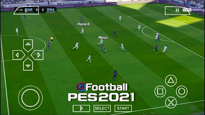 PES 2021 PPSSPP Android Offline PS5 Latest Transfer