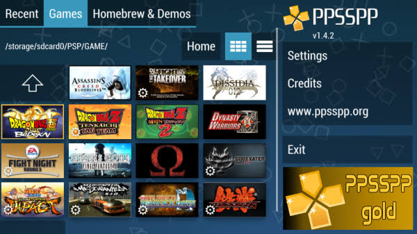 PPSSPP Gold Emulator Android Latest Version Free Download