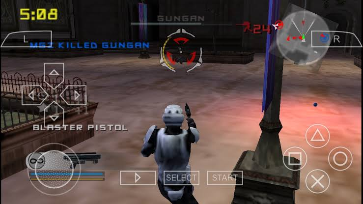 Star Wars Battlefront 2 ISO File PSP Game