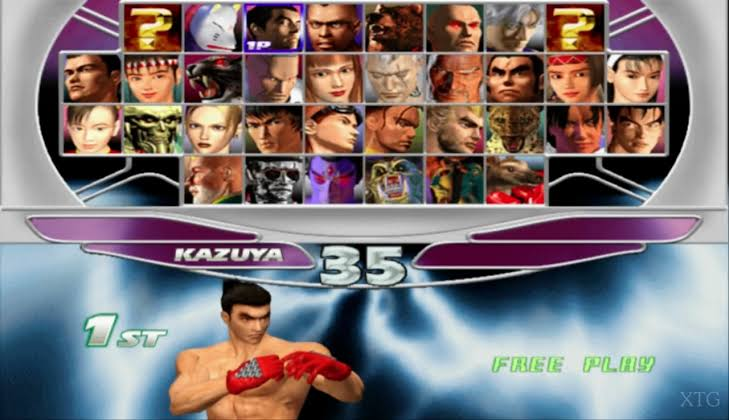 Tekken Tag Tournament ISO for Playstation 2