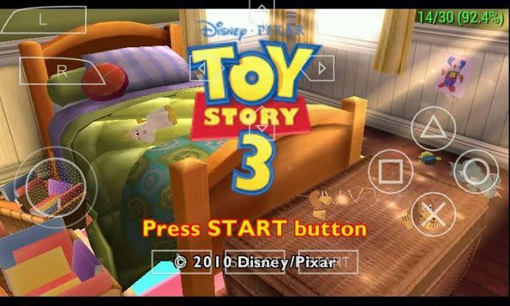 Toy Story 3 ISO File PSP Game Download