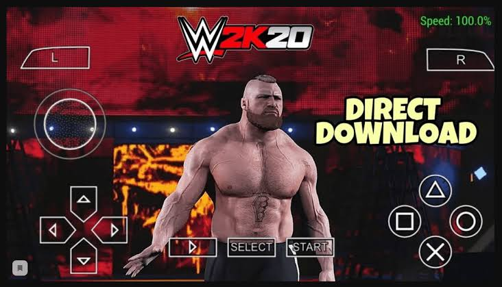 WWE 2K20 ISO PPSSPP For Android Free Download