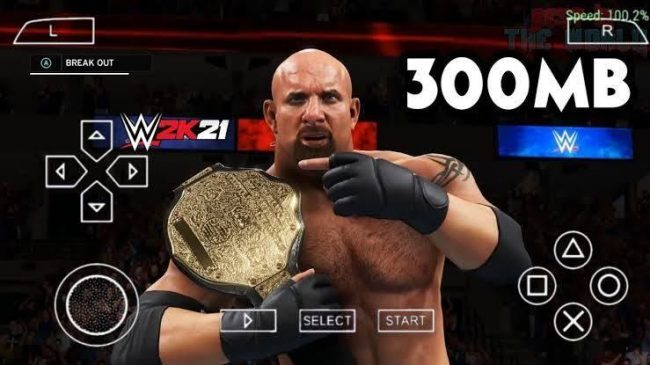 WWE 2k21 PPSSPP – PSP Apk ISO Download For Android